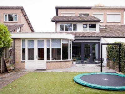 Kozijncenter Ede - metamorfose met tuindeuren en verwarmd glas bij vtwonen weer verliefd op je huis