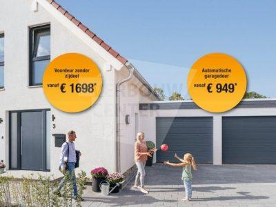 Kozijncenter Ede Hörmann specialist - garagedeuren van Hörmann actie 2019